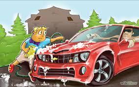 мыть машину и заработать