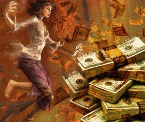 привлечение денег и удачи