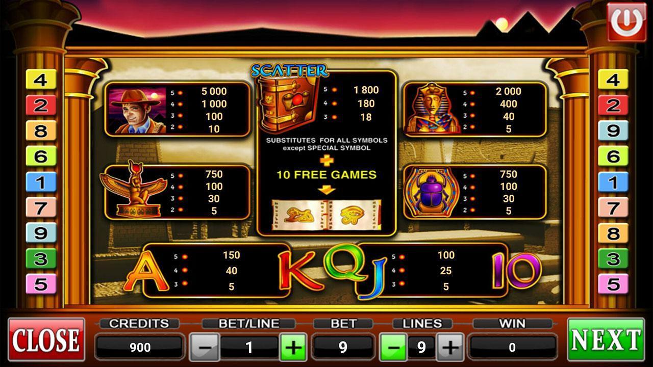 Игровой слот онлайн Book of Fate в казино Миллион